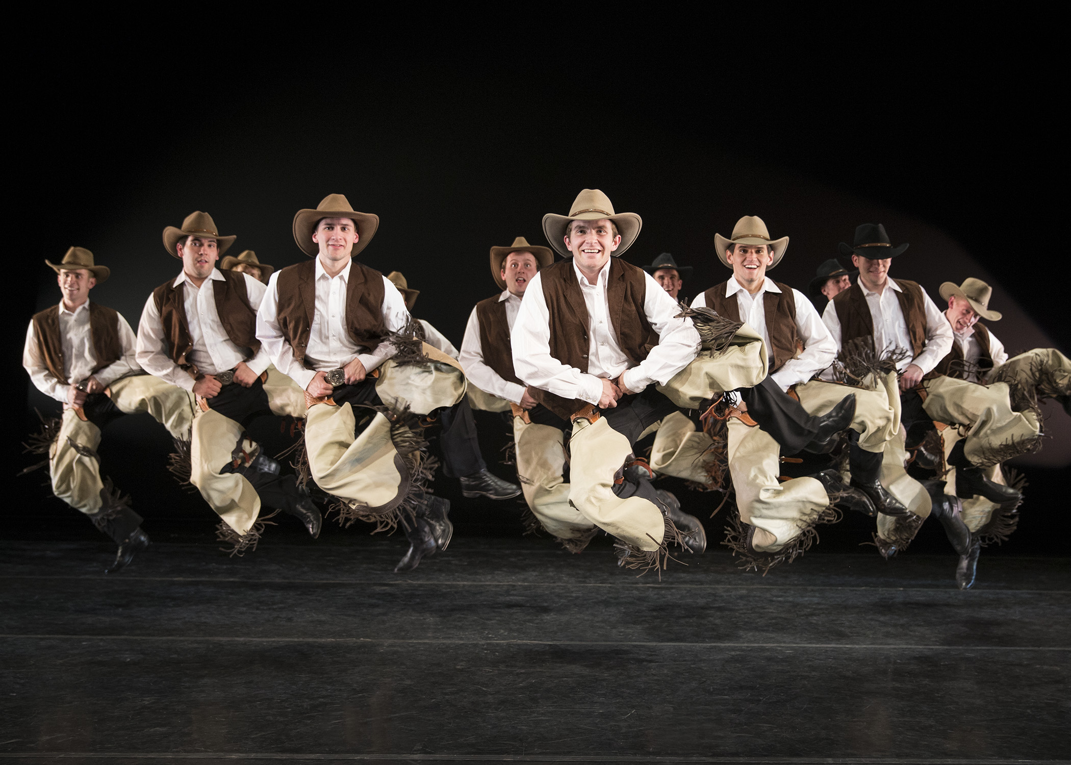 "American Folk Dance Ensemble performing the USA ""Texas Fandango"" in 2013.