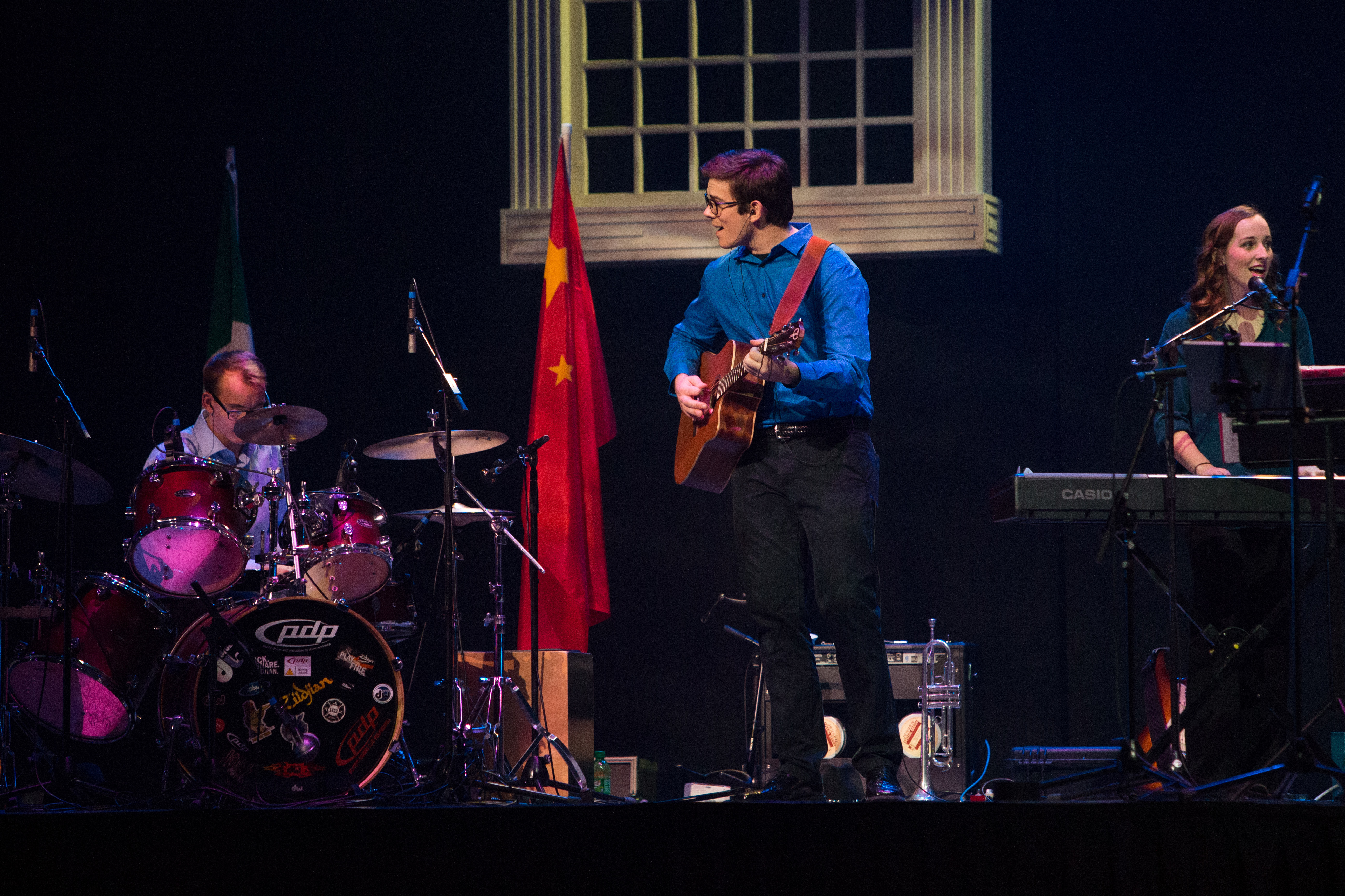Marshall Gibson on the Guitar.