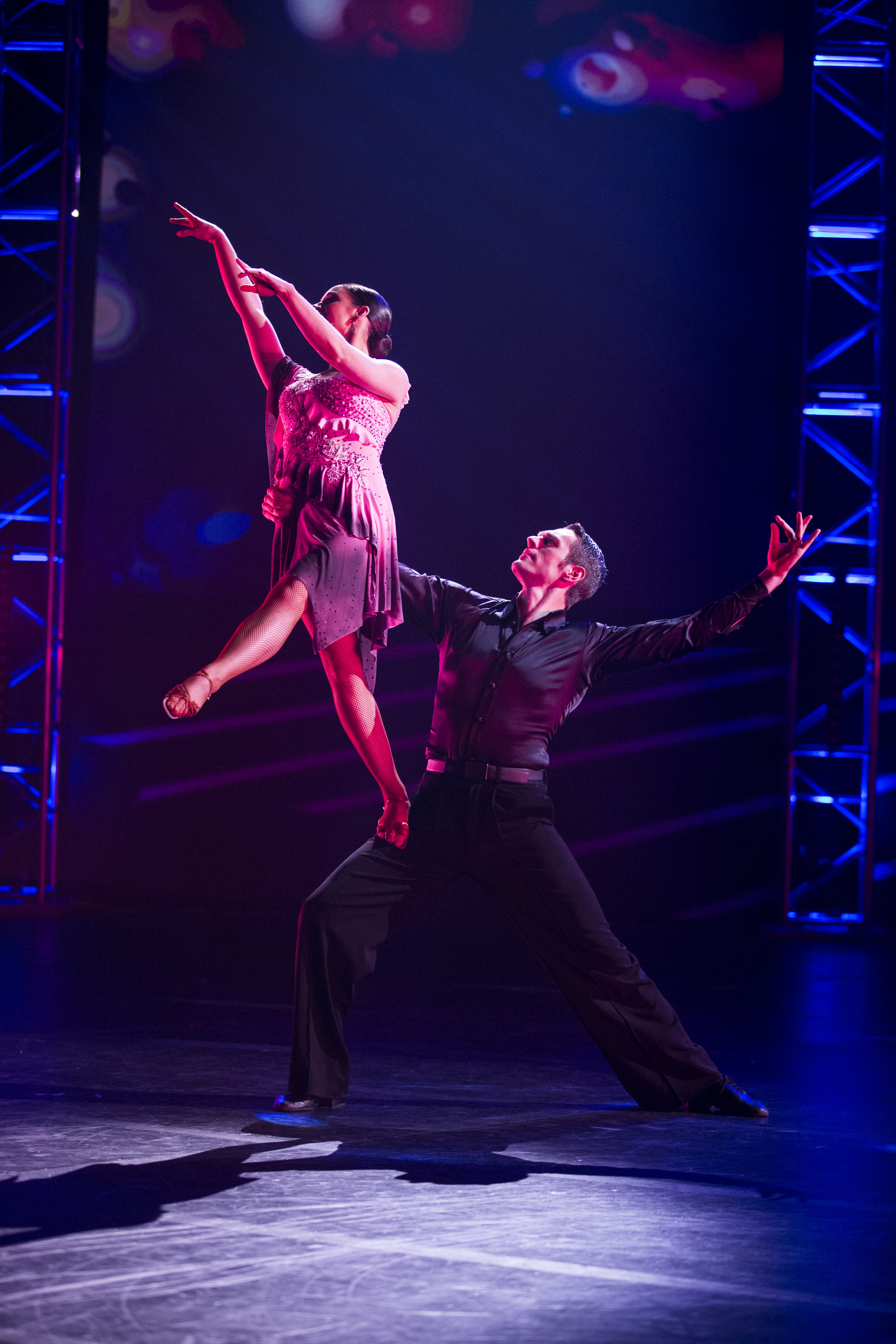 Kayci Treu and Benjamin Ralph stars in the cabaret, 'Piece by Piece.' Photo by Tabitha Sumsion/ BYU Photo 2017