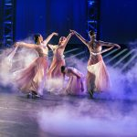 Dancers perform in the waltz, 'A Time for Us.'  Photo by Tabitha Sumsion/ BYU Photo 2017