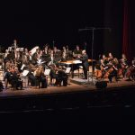 The Chamber Orchestra performs at the Meralco Theater in Manila, Philippines with star Tim Pavino.   Photo by Jaren Wilkey/BYU  © BYU PHOTO 2017 All Rights Reserved photo@byu.edu  (801)422-7322