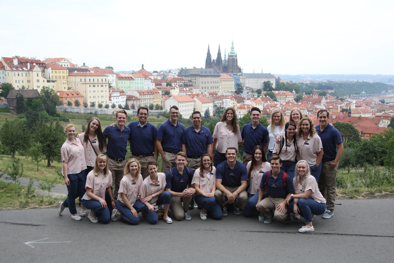 1507-75 02455  CDT  Europe Tour Prague, Czech Republic  Prague castle district  July 8, 2015  Photography by  Mark A. Philbrick/BYU  Copyright BYU Photo 2015 All Rights Reserved photo@byu.edu (801)422-7322