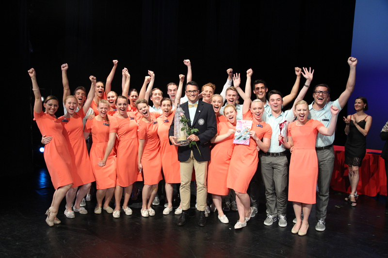 1507-75 02970  CDT  Europe Tour Prague, Czech Republic  The Contemporary Dance Theater win the Grand Prix at the Prague International Dance Festival Nathan Balser, Artistic Director  July 9, 2015  Photography by  Mark A. Philbrick/BYU  Copyright BYU Photo 2015 All Rights Reserved photo@byu.edu (801)422-7322