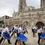 American Folk Dance Ensemble performing at the 2015 International Folkloric Festival 'Ciudad de Burgos', in Spain. Photo by Mark Philbrick.