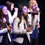 1603-03 120  1603-03 Performance Devotional  Young Ambassadors, Vocal Point, Noteworthy, Cougarettes.   March 1, 2016  Photography by Todd Wakefield/BYU  Copyright BYU Photo 2016 All Rights Reserved photo@byu.edu   (801)422-7322