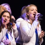 1603-03 156  1603-03 Performance Devotional  Young Ambassadors, Vocal Point, Noteworthy, Cougarettes.   March 1, 2016  Photography by Todd Wakefield/BYU  Copyright BYU Photo 2016 All Rights Reserved photo@byu.edu   (801)422-7322