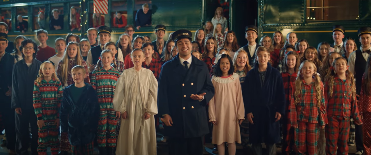 """Vocal Point's Newest Christmas Video - """"Believe"""""""